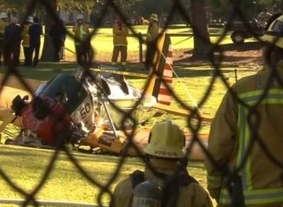 News video: Harrison Ford Injured in Plane Crash in Los Angeles