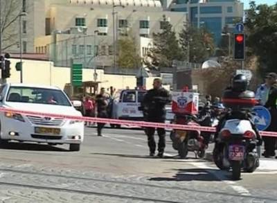 News video: At Least Five Injured in Motorist Attack in Jerusalem