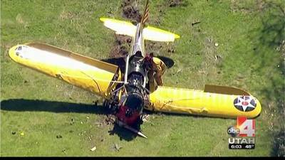 News video: Harrison Ford injured in California small plane crash
